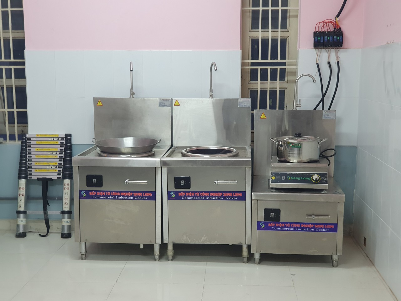 Hình ảnh bếp từ Sang Long tại tphcm