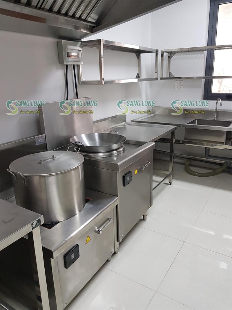 Bếp từ công nghiệp đơn - mặt phẳng