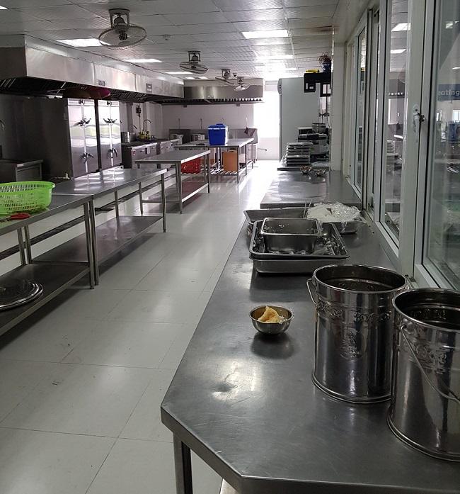 Hệ thống nhà bếp công nghiệp cho trường học