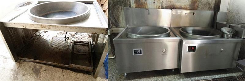 Cách tránh mua bếp từ công nghiệp đã qua sử dụng