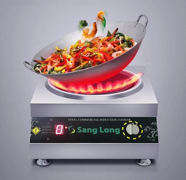 Nhiệt độ nấu của bếp từ công nghiệp có cao hơn bếp gas