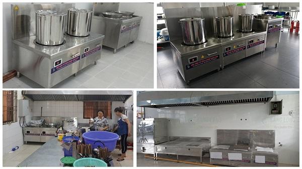 Bếp từ công nghiệp là thiết bị nhà bếp xanh và tốt cho sức khỏe