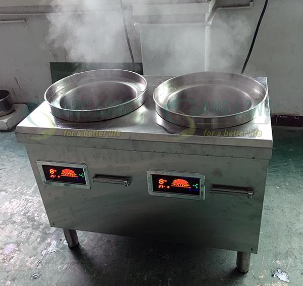 Tại sao bếp từ công nghiệp tốt hơn bếp gas