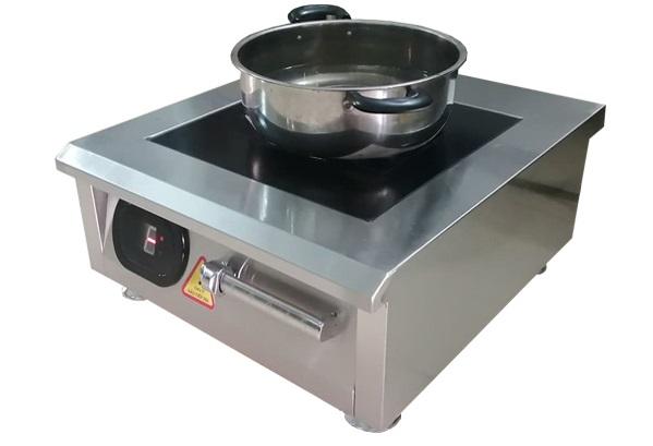 Bếp từ công nghiệp đun sôi 100 lít nước mất bao lâu