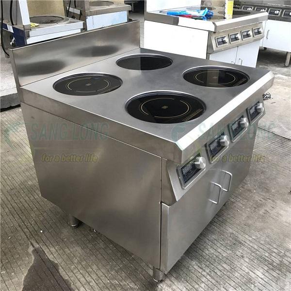 Bếp điện từ 4 vùng nấu