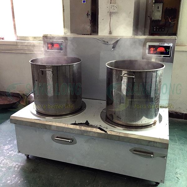 bếp điện công nghiệp đôi