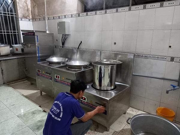 thiết bị bếp điện cho quân đội