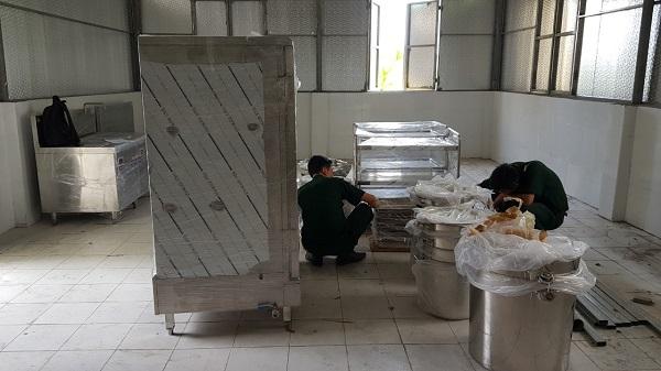 bếp điện từ cho bếp ăn quân đội