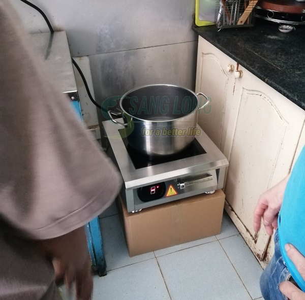 bếp từ 5kw sử dụng cho gia đình