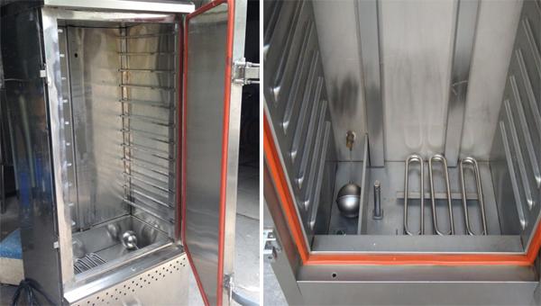 Sự khác biệt giữa tủ cơm điện và tủ cơm điện từ